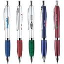 Custom PK-605 Click Action Solid Brass Ballpoint Pen