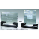 Custom 850WD2 The Alfa Jade Glass Awards, Glass Panel w/ black wood base 8