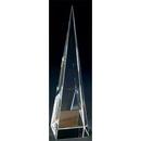 Custom A4610 The Alfa Crystal Collection, Crystal Pyramid Tower 2 5/8