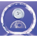 Custom COCLK36 The Alfa Crystal Clock Collection, Crystal Faceted Round Clock 5