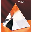 Custom CPY045 The Alfa Crystal Collection, Crystal Pyramid 4 1/2