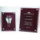 Custom CRP810 The Alfa Jade Glass Awards, Wood Plaque on Glass 8