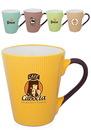 Custom 11 oz. Le Creme Ceramic Latte Mugs
