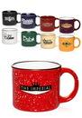 Custom 13 oz. Camper Or Campfire Coffee Mugs