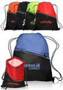 Custom 14W X 18H Two-Tone Insulated Drawstring Sports Packs