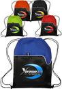 Custom 14 W X 16 H Polyester Drawstring Bags