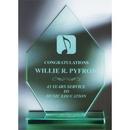 Custom GB3910 The Alfa Jade Glass Awards, Jade Glass Imperial 7