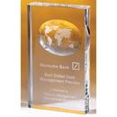 Custom OCGL43 Alfa Crystal Globe Awards, Crystal Illusion Globe 4 3/8