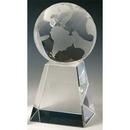 Custom S5311 The Alfa Crystal Collection, Crystal Spinning Globe 3 1/8