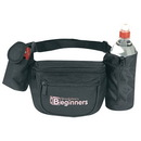 Custom SP1028 Fanny Pack w/ Bottle Holder & Cellular Phone Pouch