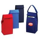 Custom SP4052 Lunch Bag, 600 Denier Polyester w/  Heavy Vinyl Backing