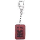 Custom WK04 Rosewood Rectangle Shape Key Tag