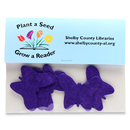 Custom Plant-A-Shape Confetti Packets, 5 1/2