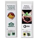 Custom Bookmark with Seeds, 2 1/4