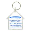 Custom Acrylic Keytag House, 1-1/2