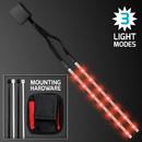 Blank Red LED Tape Light Strips for Bike Frame