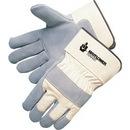Custom Premium Side Split Cowhide Palm Gloves
