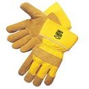 Custom Pile Lined Split Cowhide Work Gloves