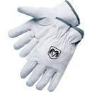 Custom Pearl Gray Split Cowhide Driver Gloves