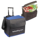 Custom 1042 600D Polyester/420D Nylon Insulated Foldable Cooler, 16 L x 16 D x 11 H