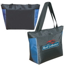 Custom 1089 70D Nylon/Rip-Stop Nylon Carry All Insulated Cooler Tote, 15-1/2 L x 13-1/2 H x 6 D