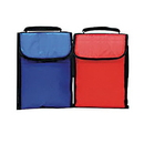 Custom 1109 Nylon Econo Insulated Lunch Bag, 7L x 10H x 3-1/2D