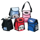 Custom 1121 600D Polyester Deluxe Lunch Pack, 6 L x 9 H x 5 D