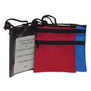 Custom 3006 420D Nylon Neck Wallet, 4-1/4 L x 5 H