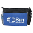 Custom 4004 600D Polyester Convention Bag, 15 L x 12 H x 4 D
