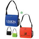 Custom 4227 Non Woven Convention Messenger Bag, 14L x 12H x 4D