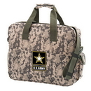 Custom 4907 600D Polyester Camo Brief Bag, 16 L x 13 H x 4 D