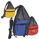 Custom 6013 600D Polyester/Nylon mesh Mesh Drawstring, 11 L x 6 D x 18 H