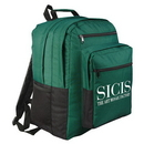 Custom 6033 600D Polyester Packer Backpack, 12-1/2 L x 8-1/2 D x 16-1/2 H