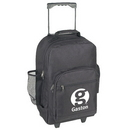 Custom 6081 600D Polyester Wheeled Backpack, 12 L x 7 D x 18 H