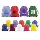 Custom 6118 210D Nylon/PU Splendor DUROcord Cinch Bag, 14 L x 18 H