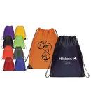 Custom 6206 210D Nylon Economy Backpack, 14-1/2 L x 18 H