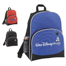 Custom 6295 600D Polyester School Fun Backpack, 12-1/2L x 16H x 6D