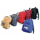 Custom 6310 600D Polyester Basic Backpack, 11 L x 15 H x 4-7/10 D