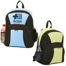 Custom 6806 600D Polyester with Vinyl Back Xpression Backpack, 12 L x 16 H x 6-1/2 D