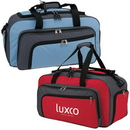 Custom 7026 600D Polyester with Vinyl Backing Cross Town Duffel, 21 L x 11 H x 11 D