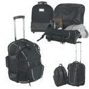 Custom 7741 600D Polyester Deluxe Rolling Twin Pack, 14 L x 19 H x 13 D