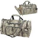 Custom 7915 600D Polyester Quick Pack Camo Duffel, 21 L x 11-1/4 H x 10 D