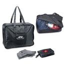 Custom 9248 Rip Stop Nylon Fold-Away Travel Bag w/Zipper Storage Pouch, 20 1/2L x 15 1/4H x 5 1/2D