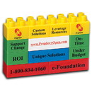 Custom Pbgiant Promo Blocks - 12 Block Giant, Full Color One Side, Second Side Available