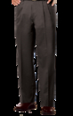 Blue Generation BG8000P - Men's 60/40 Cotton/Polyester Teflon Treated Twill Pleated Front Pants