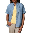 Blue Generation BG8202S - Ladies' Double Back Yoke Short Sleeve Premium Denim