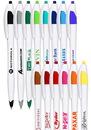 Custom Derby Ballpoint Pen, Plastic, 0.65