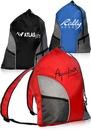 Custom Sporter Drawstring Backpacks, 210D pu Polyester+Mesh, 18.5