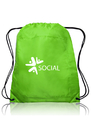 Custom Insulated Drawstring Sports Pack, 210D Polyester + 12Peva Insulation Inside, 16.5