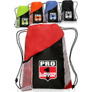 "Tri-Color Sports Pack, 210D Polyester, 13"" W x 17.75"" H - Blank"